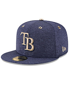 New Era Boys' Tampa Bay Rays 2017 All Star Game Patch 59FIFTY Fitted Cap