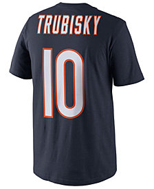 Nike Men's Mitchell Trubisky Chicago Bears Pride Name and Number T-Shirt