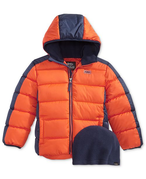 81c69d7db sleek 679c2 d30d9 outfitter hooded puffer jacket toddler boys 2t 5t ...