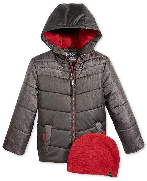 0eb93506b36e sleek 679c2 d30d9 outfitter hooded puffer jacket toddler boys 2t 5t ...