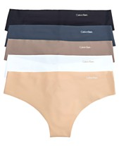 92e473a279bf Calvin Klein Invisible Thong 5-Pack QD3556