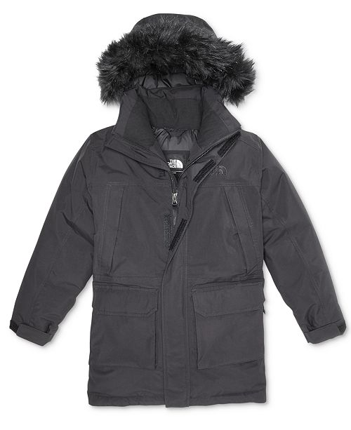 fc9354407 The North Face Mcmurdo Hooded Parka with Faux-Fur Trim