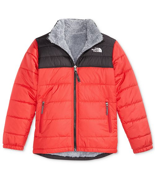 ae36524235 The North Face Mount Chimborazo Reversible Fleece Puffer Jacket ...