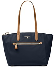 5ceefdd53cde MICHAEL Michael Kors Kelsey Medium Top-Zip Nylon Tote
