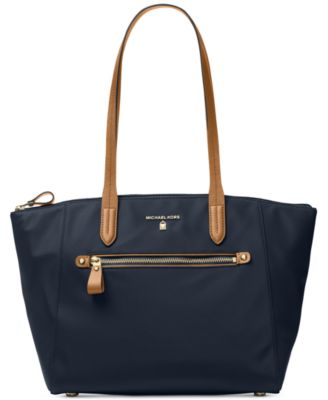 michael kors kelsey medium top zip tote handbags accessories rh macys com