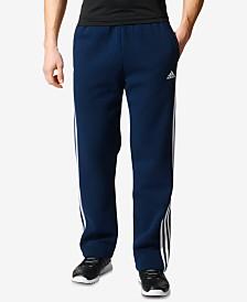 adidas Men's Essential Open-Hem Fleece Sweatpants
