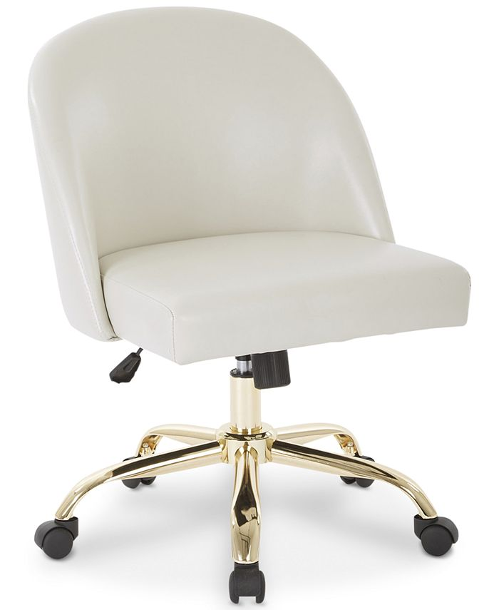Office Star - Layton Mid Back Office Chair, Quick Ship