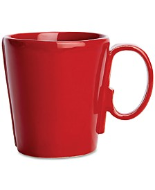Vietri Lastra Red Collection Mug