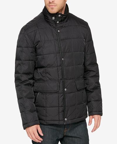 Cole Haan Men's Quilted Jacket - Coats & Jackets - Men - Macy's : leather quilted jacket men - Adamdwight.com