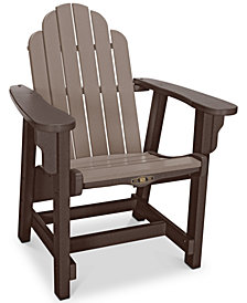 Essentials Adirondack Outdoor Conversational Chair, Quick Ship