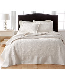 Lush Embroidery Full Bedspread, Created for Macy's