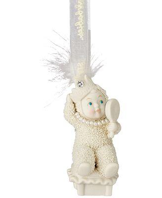 Department 56 Snowbabies Dress Up Ornament