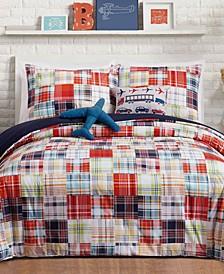 Bryce Reversible 5-Pc. Full/Queen Comforter Set