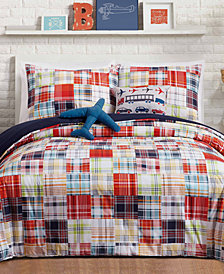Urban Playground Bryce Reversible 5-Pc. Full/Queen Comforter Set