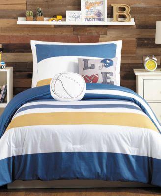TJ Reversible 4-Pc. Twin Comforter Set