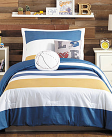 Urban Playground TJ Reversible 4-Pc. Twin Comforter Set