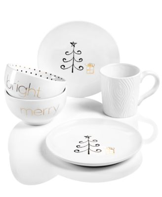 Merry and Bright Dinnerware Collection Created for Macy\u0027s  sc 1 st  Macy\u0027s & Merry and Bright Dinnerware Collection Created for Macy\u0027s ...