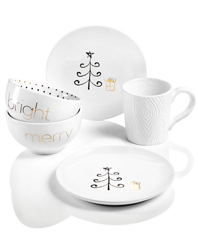 Merry and Bright Dinnerware Collection, Created for Macy's