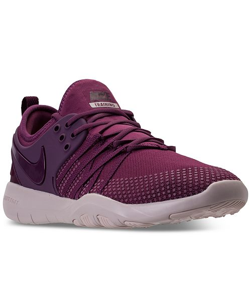 3068f746e1323 Nike Women s Free TR 7 Training Sneakers from Finish Line   Reviews ...