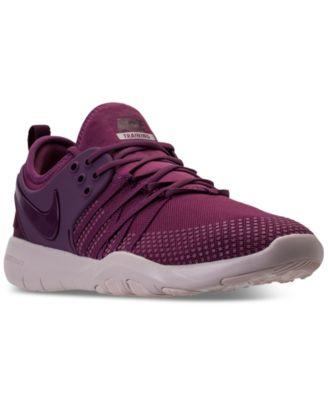 nike women free tr 7 purple