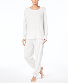 Hue Super Soft T-Shirt & Cuffed Pajama Pants Sleep Separates