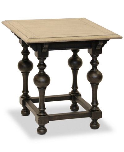 Bryten Square End Table, Quick Ship