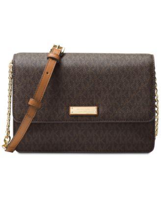 michael kors signature large gusset crossbody handbags rh macys com