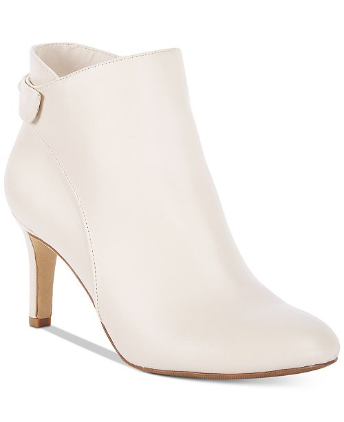 Alfani Women's Step 'N Flex Fawwn Ankle Booties, Created for Macy's