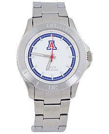 Jack Mason Men's Arizona Wildcats Sport Bracelet Silver Watch