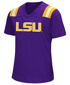 Colosseum Girls' LSU Tigers Rugby T-Shirt