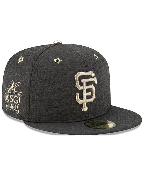 7ee46818389 ... New Era San Francisco Giants 2017 All Star Game Patch 59FIFTY Fitted Cap  ...