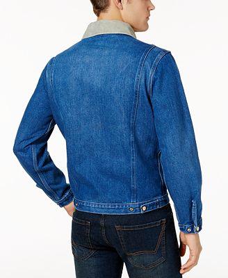 Dickies Men S Heritage Full Zip Denim Jacket Coats Jackets Men
