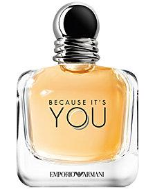 Emporio Armani Because It's You Eau de Parfum Spray, 3.4-oz.