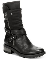 212bed1e70c9 Carlos by Carlos Santana Sawyer Moto Booties