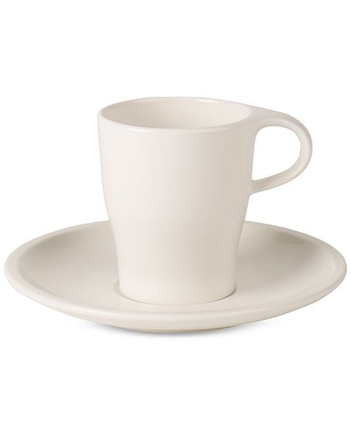 Villeroy & Boch Coffee Passion Collection Doppio Espresso Cup & Saucer Set