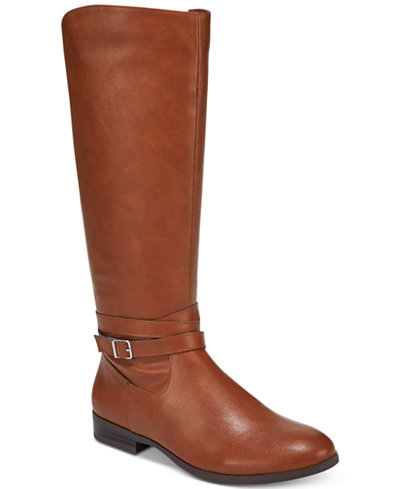 Style Amp Co Keppur Riding Boots Created For Macy S Boots