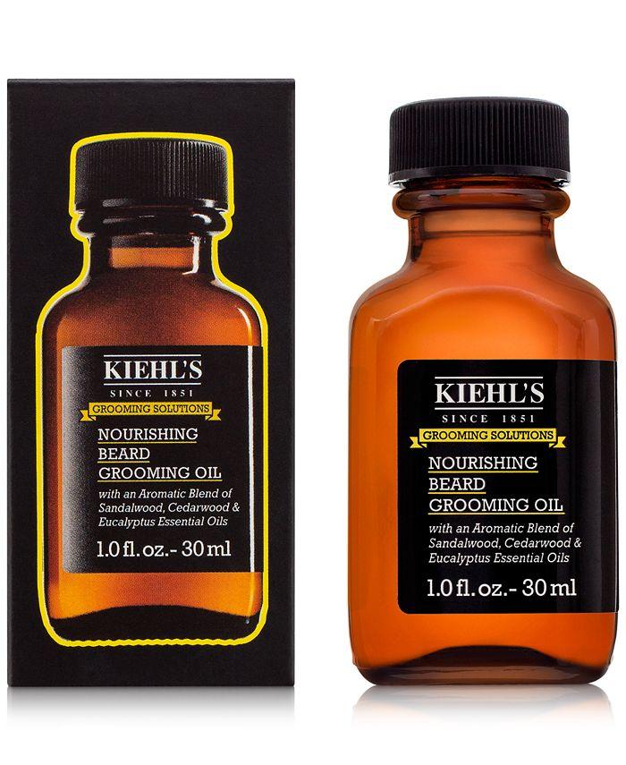 Kiehl's Since 1851 - Grooming Solutions Nourishing Beard Grooming Oil, 1-oz.