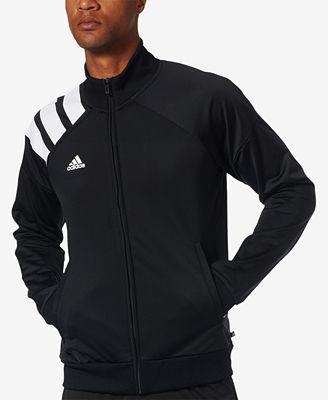 Adidas tango degli uomini tricot calcio giacca cappotti & giacche uomini macy's
