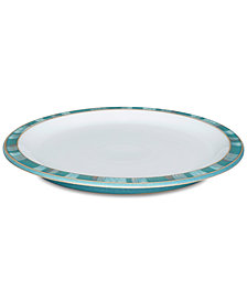 Denby Dinnerware, Azure Patterned Dinner Plate