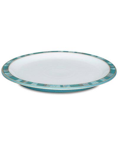 Denby Dinnerware, Azure Patterned Dinner Plate