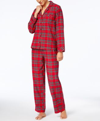 Matching Women's Brinkley Plaid Pajama Set, Created for Macy's
