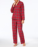 This review is fromMatching Family Pajamas Womens Brinkley Plaid Pajama Set  Created for Macys. 120e8f597