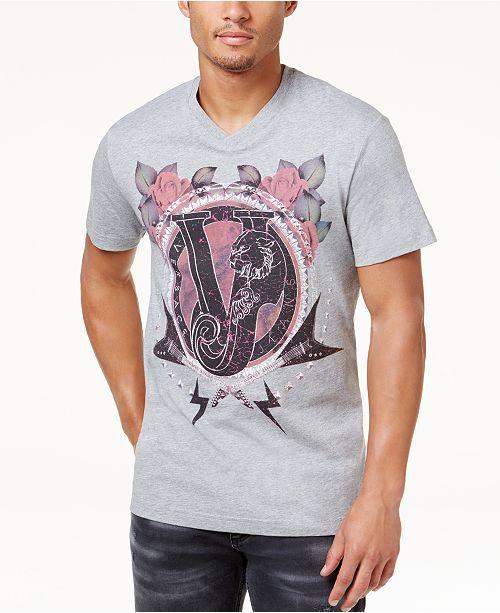 Versace Jeans Men's Graphic Print T-Shirt