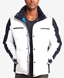 Sean John Men's Colorblocked Ski Jacket, Created for Macy's