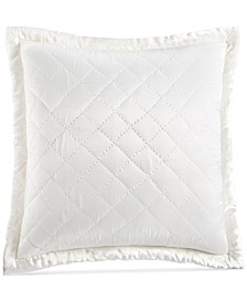 CLOSEOUT! Trousseau Cotton Quilted European Sham, Created for Macy's