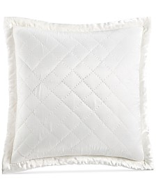 Hotel Collection Trousseau Cotton Quilted European Sham, Created for Macy's