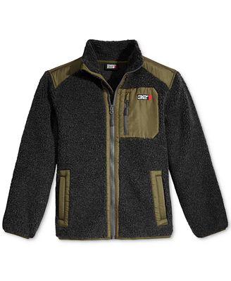 32 Degrees Zip-Up Fleece Jacket, Little Boys