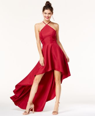 Red cocktail dresses for juniors energie