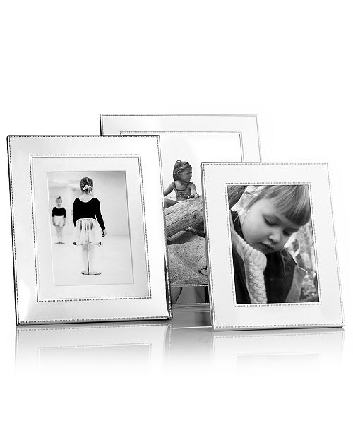 Martha Stewart Collection Picture Frames Silver Bead Collection