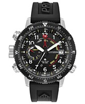 Citizen Eco-Drive Men s Promaster Altichron Black Rubber Strap Watch 46mm e8dad59157